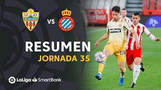 Resumen de UD Almería vs RCD Espanyol (1-1)