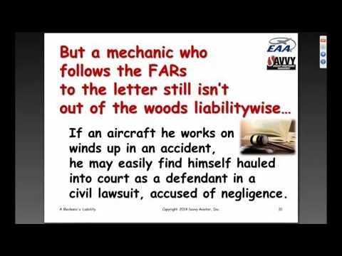 A Mechanic's Liability