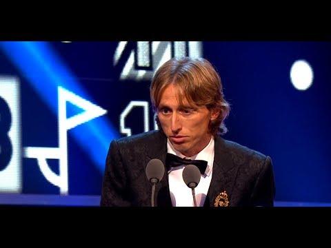 Luka Modrić ist Weltfußballer des Jahres 2018