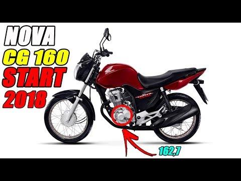 Nova Fan 125 2018 >> NOVA CG 160 START MODELO 2018 EM DETALHES - YouTube
