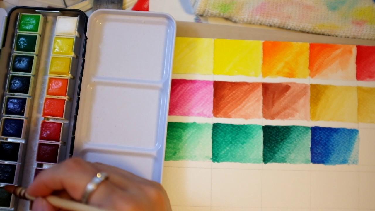 mungyo watercolor 24 youtube