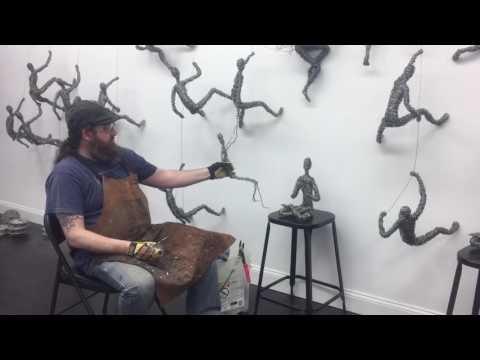 Chris Mason Wire Sculpture