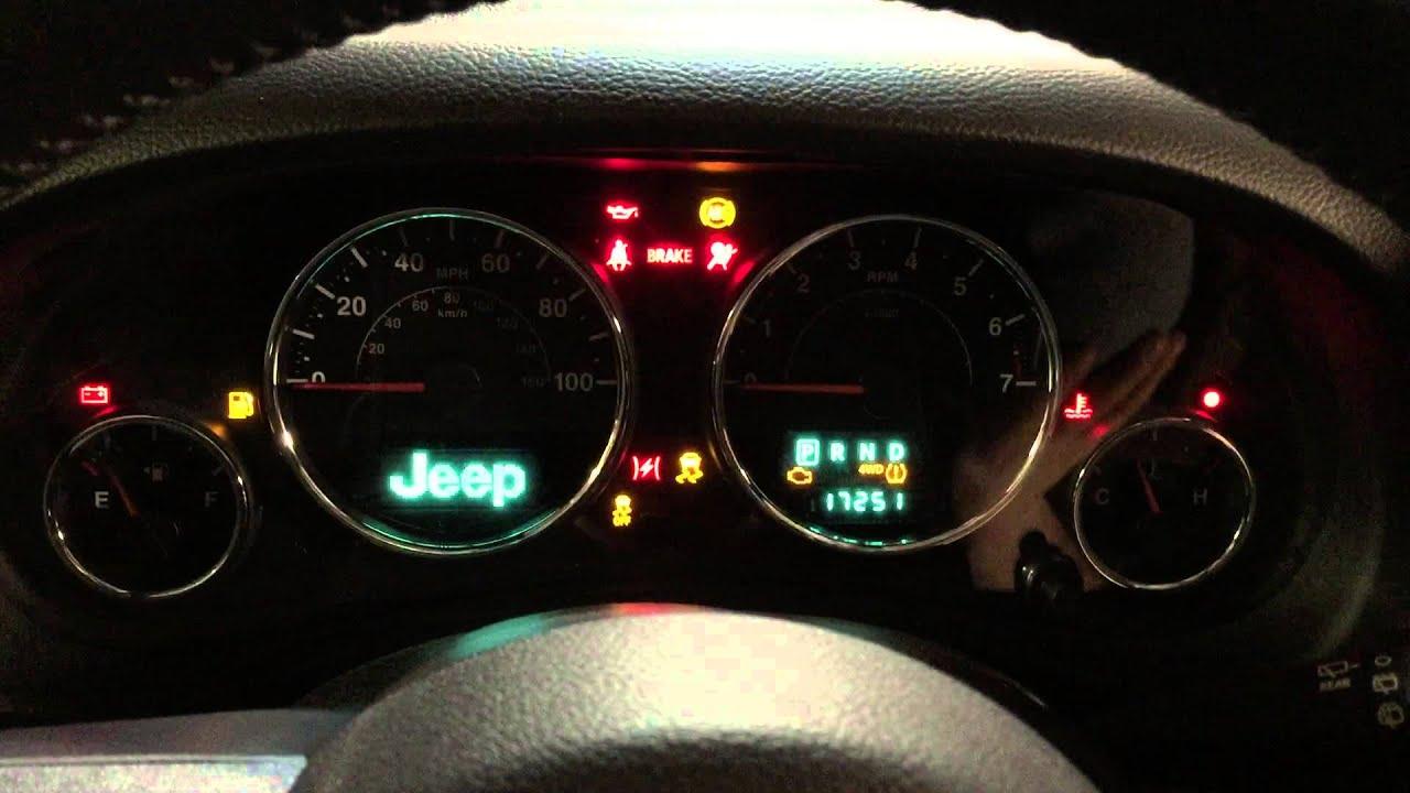 2002 Jeep Wrangler Check Engine Light Flashing