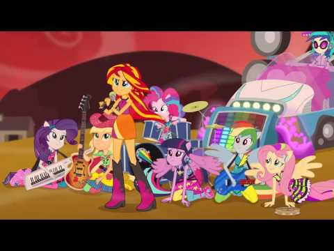 Official Latin American Sunset Shimmer singing/ Sunset ...