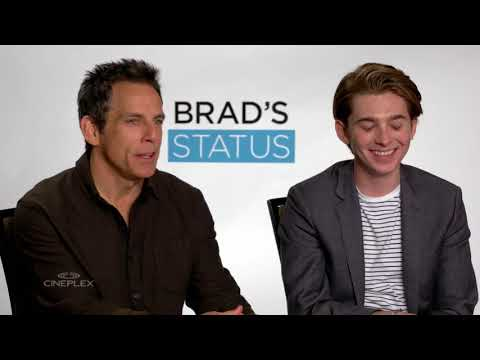 Ben Stiller and Austin Abrams on Brad's Status at TIFF