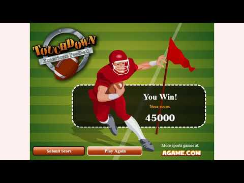 How To Play Touchdown American Football Game | Free Online Games | MantiGames.com