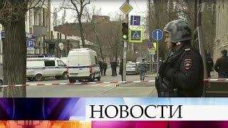 ВРостове-на-Дону сработало самодельное взрывное устройство, оставленное узабора школы.
