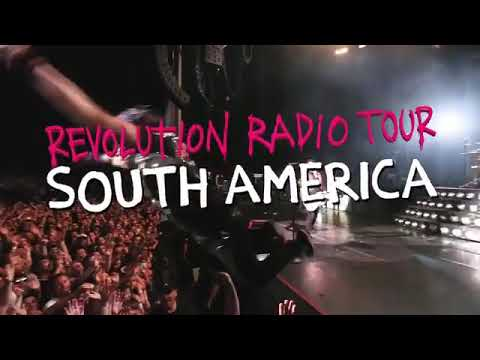 Green Day - Revolution Radio Tour South America / Mexico City 2017