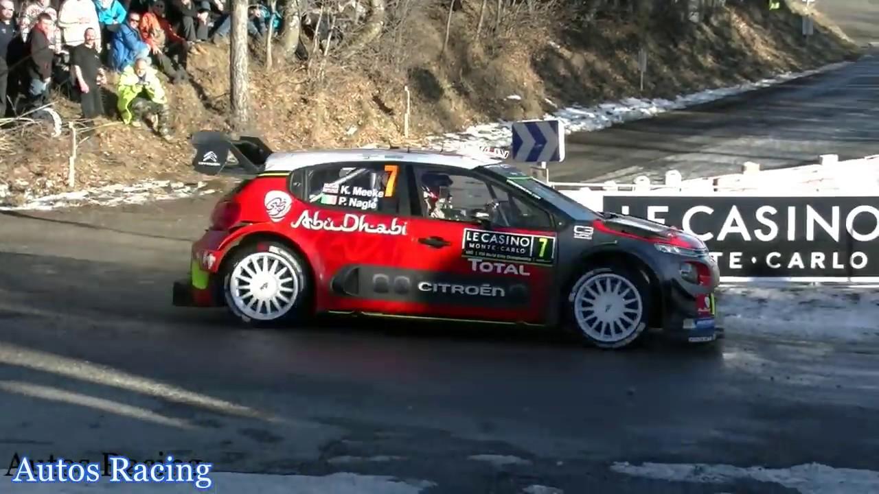 Rallye Monte Carlo 2017 Autos Racing Youtube