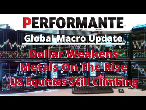 Global Macro Update: US Dollar Weakens, Stocks & Metals Rise