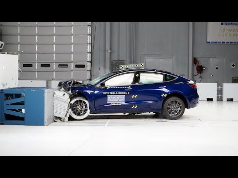 2019 Tesla Model 3 Won a Safety Award From IIHS