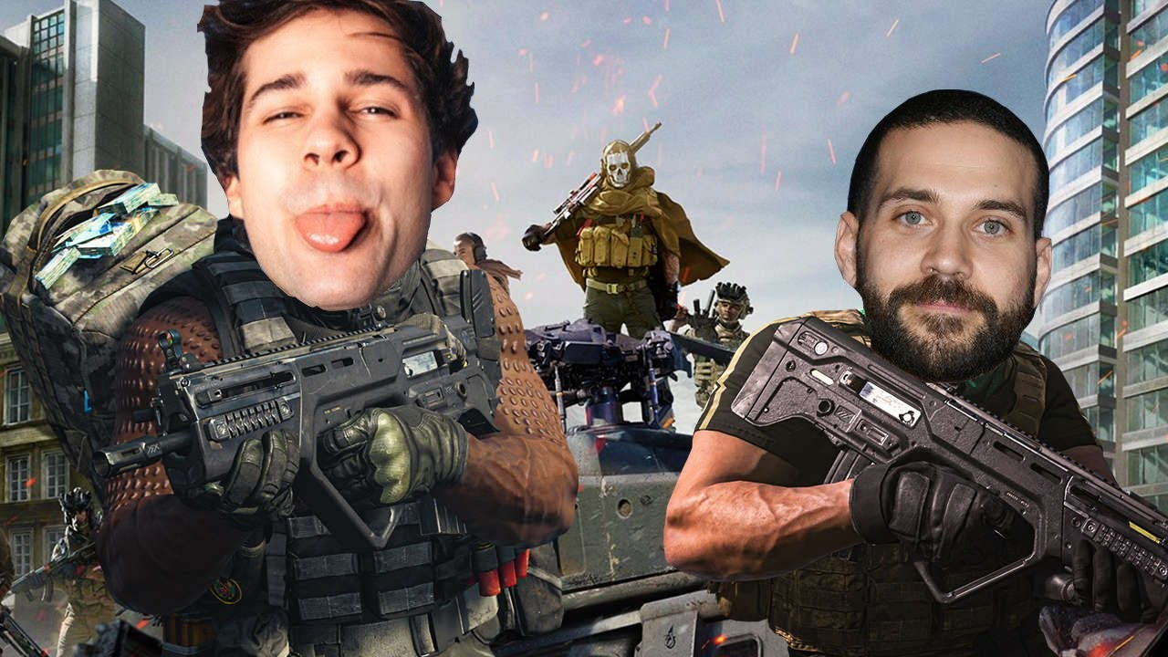 David Dobrik Warzone with The Dream Team
