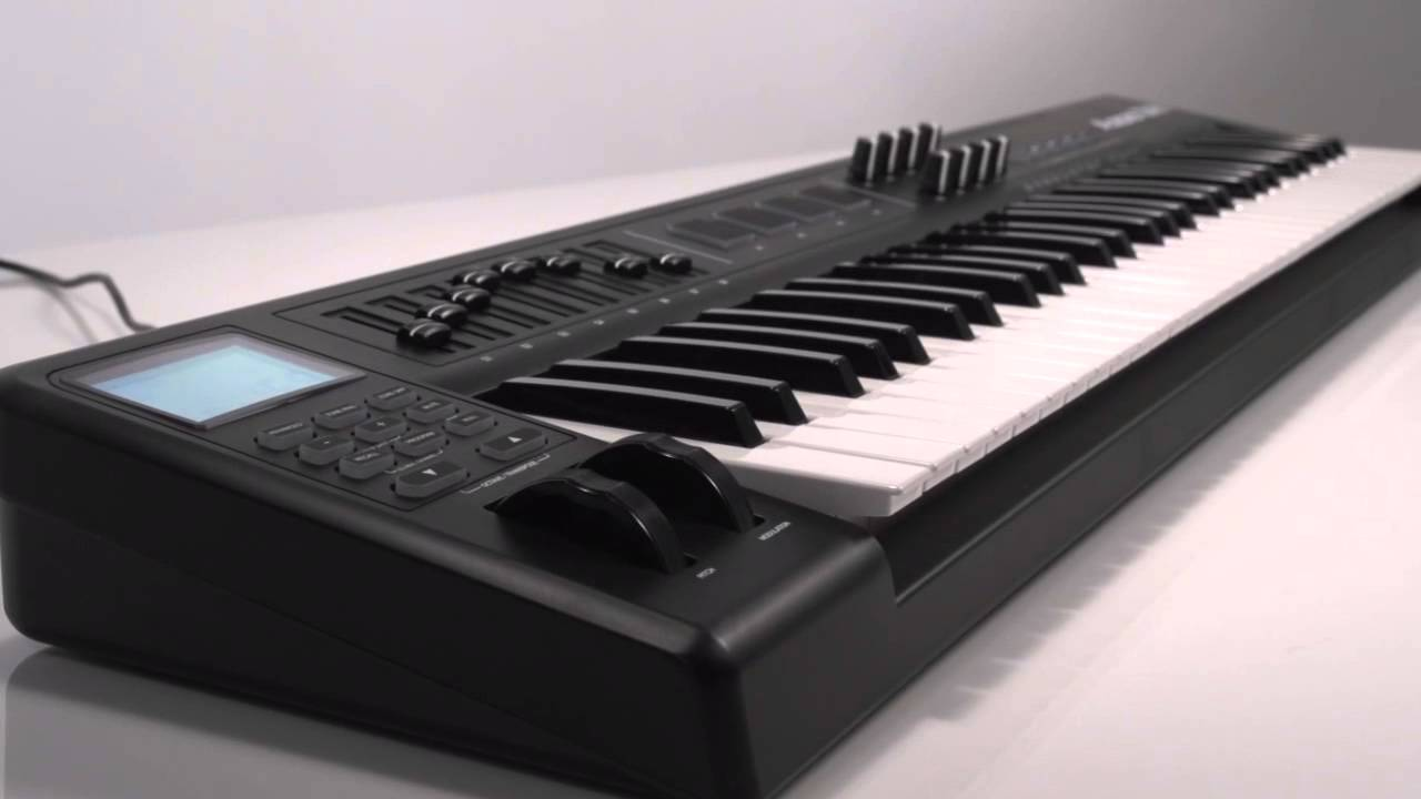 alesis qx61 advanced usb midi keyboard controller overview youtube. Black Bedroom Furniture Sets. Home Design Ideas