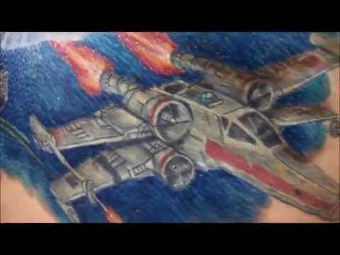 Real Studio Tattoo shows; Star Wars by Ruy Pinheiro