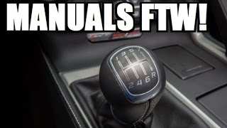 5 Reasons Why You Should Drive a Manual!
