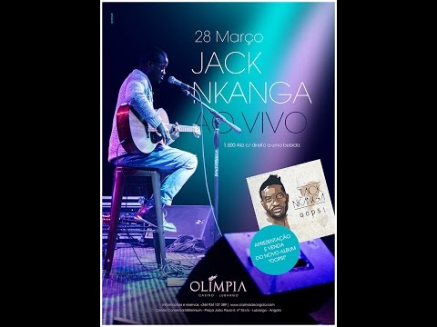 Jack Nkanga ao Vivo no Casino Olimpia!
