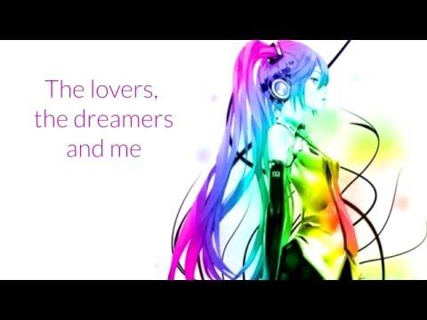 Nightcore Rainbow Connection Gwen Stefani (Lyric Video)