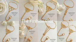 Gold Rings Chain Bracelets   PANJANGLA   Designs with light weight