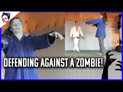 Watch Ronda Rousey Demonstrate How to Defend Yourself in a Zombie Apocalypse
