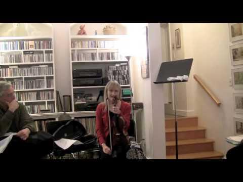 Dounis, left hand exercises; Janet Packer Part 5