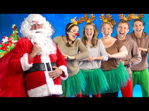 Santa's Coming - Kids Christmas Song - Bounce Patrol