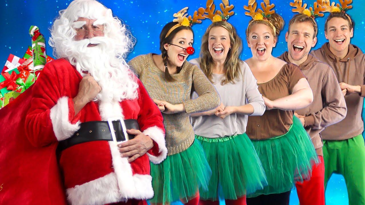 Santa\'s Coming - Kids Christmas Song - Bounce Patrol - YouTube