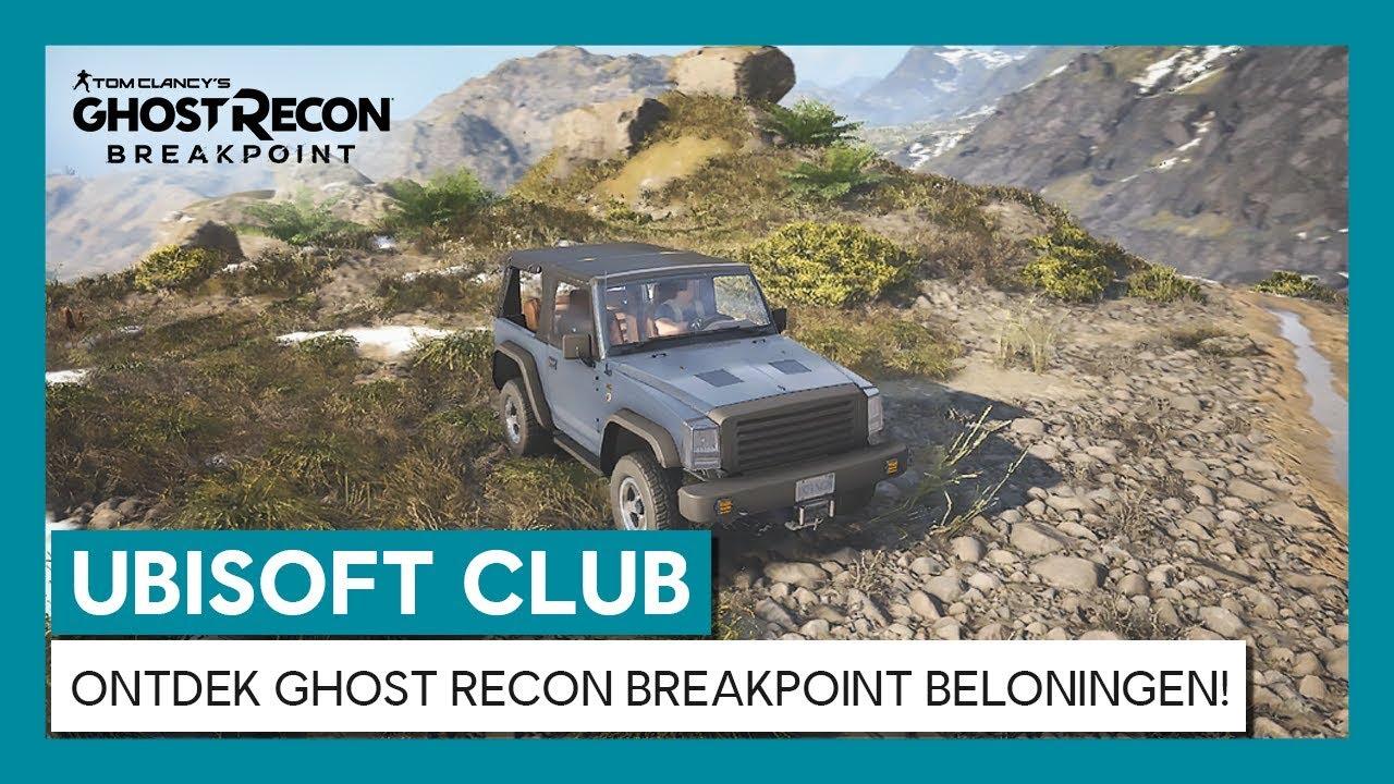 UBISOFT CLUB: ONTDEK GHOST RECON BREAKPOINT BELONINGEN!