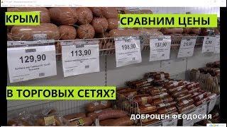 Крым. Сравним цены на продукты в сетях?