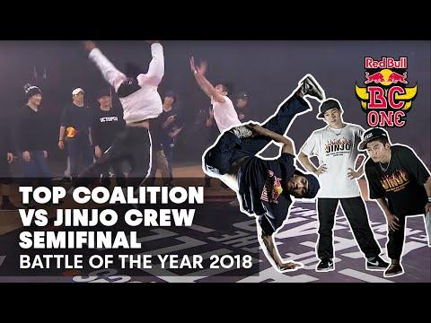 Battle Of The Year 2018 | Semifinal: Top Coalition (TW) vs. Jinjo Crew (KR)