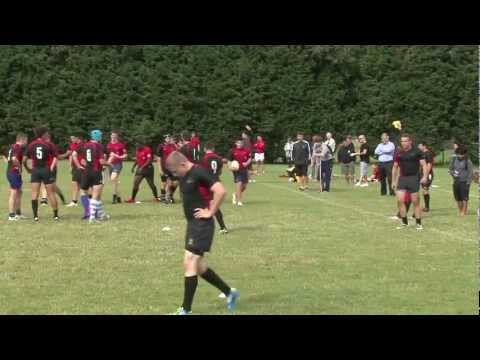 Oaklands College Saracens Rugby programme Trial Match 2012