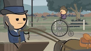 The Penny Farthing - Cyanide & Happiness Shorts