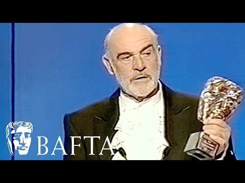 Sean Connery's Emotional BAFTA Fellowship Speech in 1998