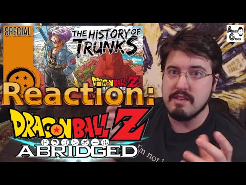 History of Trunks, DragonBall Z Abridged: #Reaction #AirierReacts