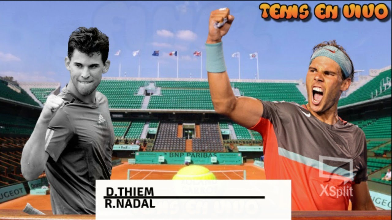 Rafael Nadal Vs Dominic Thiem Final Roland Garros 2018 Masculina Youtube