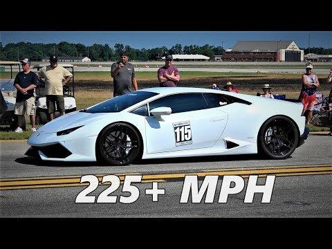 Twin Turbo Lamborghini Huracan Goes 225 +...