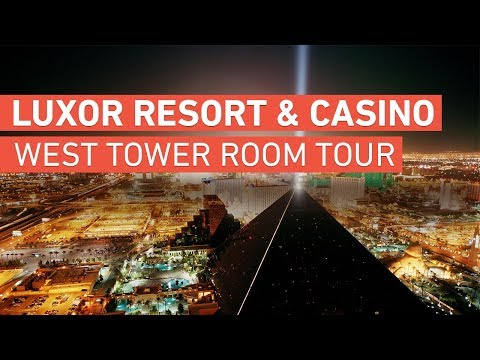 Luxor Resort & Casino Hotel - Las Vegas - West Tower Room Tour (2018)