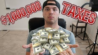 I Paid OVER $1 Million In TAXES | What A Millionaire