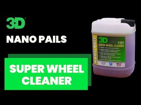 3D NANO Pails Super Wheel Cleaner and Wheel Brite