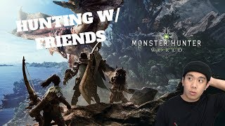 THE HUNT IS ON! - Monster Hunter: World (PC) Live Stream and More