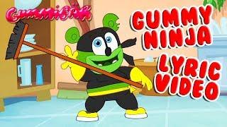 GUMMY NINJA LYRIC VIDEO Gummy Bear Song Gummibär Osito Gominola