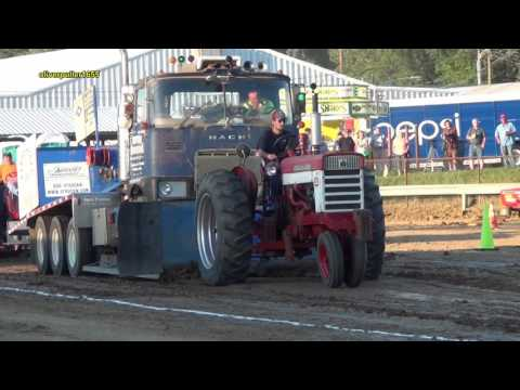 2016 Hookstown Fair 6500# 4 mph Tractor Pull