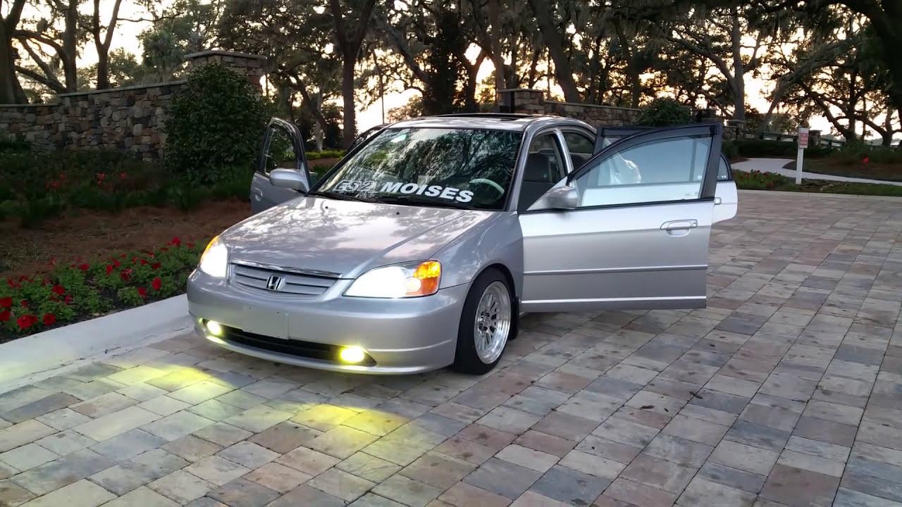 Civic Large 2002 Sedan Tires Ex Honda