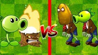 Zombotany 2 Plants vs Zombies 2 Peashooter and Torchwood