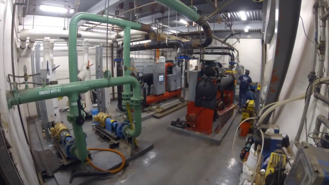 Koll Center Chiller Plant Renovation Youtube