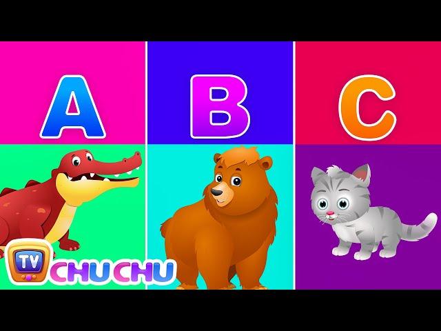 ChuChu TV Alphabet Animals – Learn the Alphabets, Animal Names & Animal Sounds | ABC Songs for Kids