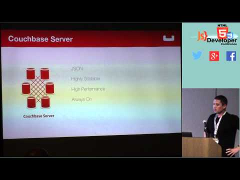 HTML5DevConf : Wayne Carter,Couchbase:Learn how to build a new breed of always-available mobile apps