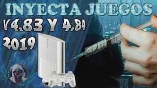 Como inyectar JUEGOS para PS3 en VERSIONES 4.84 y 4.83 /SUPER SLIM /SLIM/ jugar sin EXPLOIT / 2019