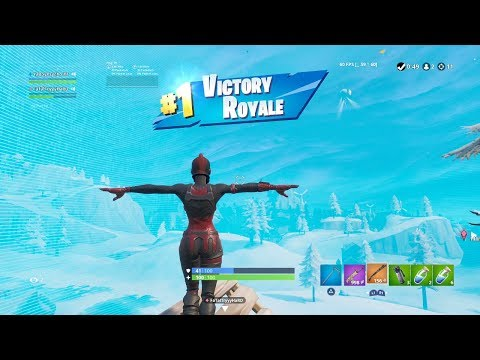 "FORTNITE ""RED KNIGHT"" SKIN GAMEPLAY Showcase (AGGRESSIVE WIN) 