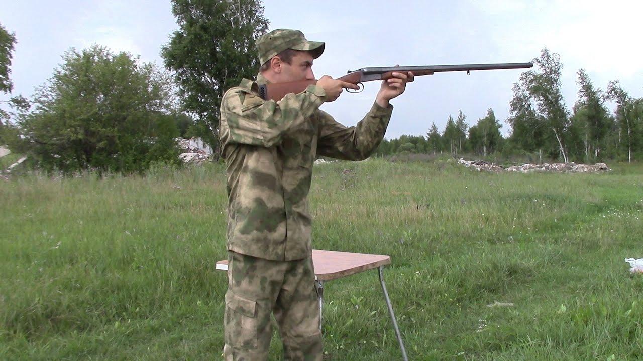 Пристрелка оружия иж 43 (20 калибра) - YouTube