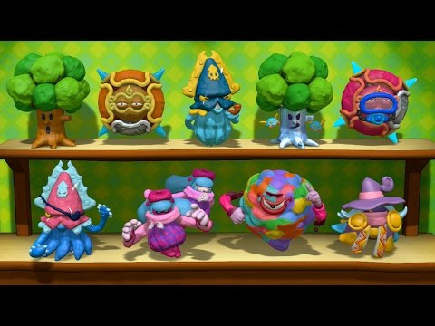 Kirby and the Rainbow Curse - All Figurines [ENGLISH]